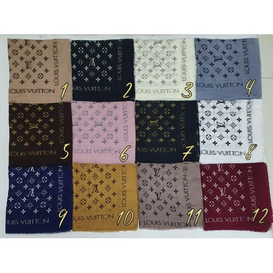 Turkish women scarf in many colors